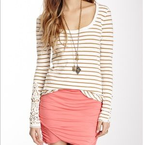 Free People Tops - Free People Hard Candy Cuff Tee